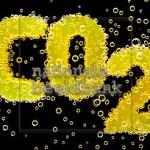 Foto van CO2 met gasbellen op nationalebeeldbank.nl