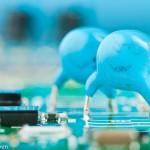 macro-foto-van elektronische componenten