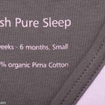 Hush Pure Sleep slaapzakje detailfoto
