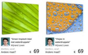 Deel collectie wijnandl oven op werkaandemuur.nl