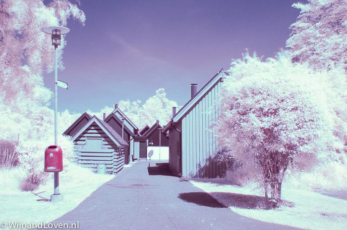Foto met Hoya R72 infrarood filter - camera