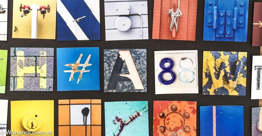 Uitzoeken van de foto's voor het samenstellen van een mobiele fotografie portfolio