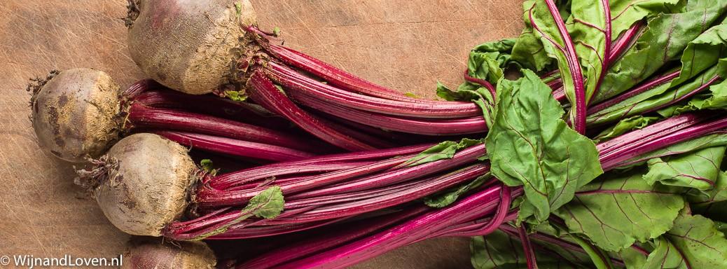 Rauwe bietjes en bietenloof: supergezond voedsel